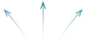 Pfeile zu Grafikdesigner-Webdesigner-Onlinemarketing